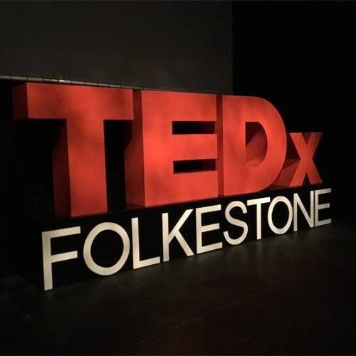 TEDxFolkestone 2019 and The Glass Wipe Board Company