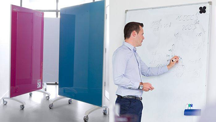 Glass Wipe Board vs Whiteboard